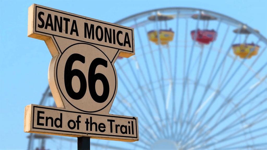 Santa Monica End of Trail