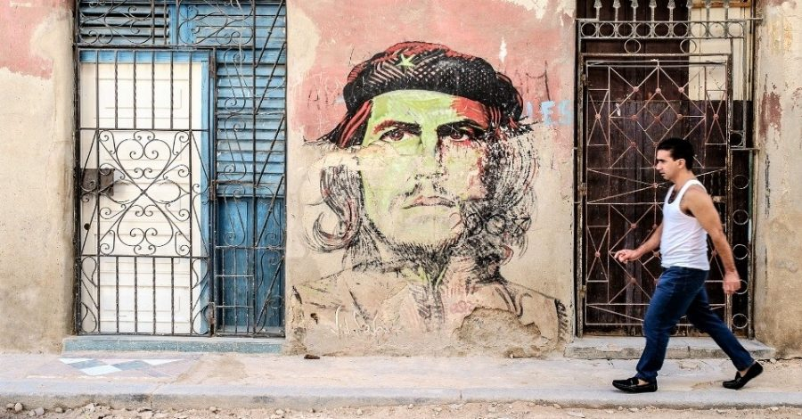 Che Quevara Mural