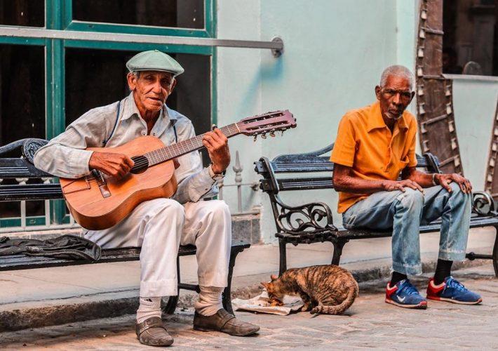 Cuba Street Singer
