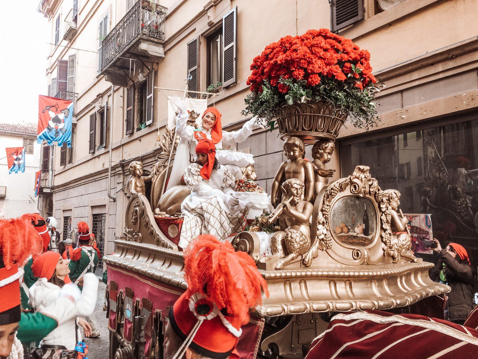 Ivrea Carnival Mugnaia