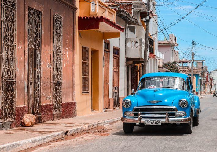 Trinidad Cuba Taxi