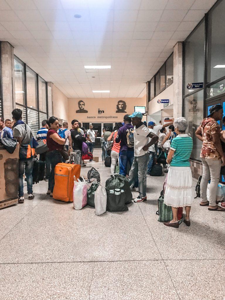 Cuba Viazul Station