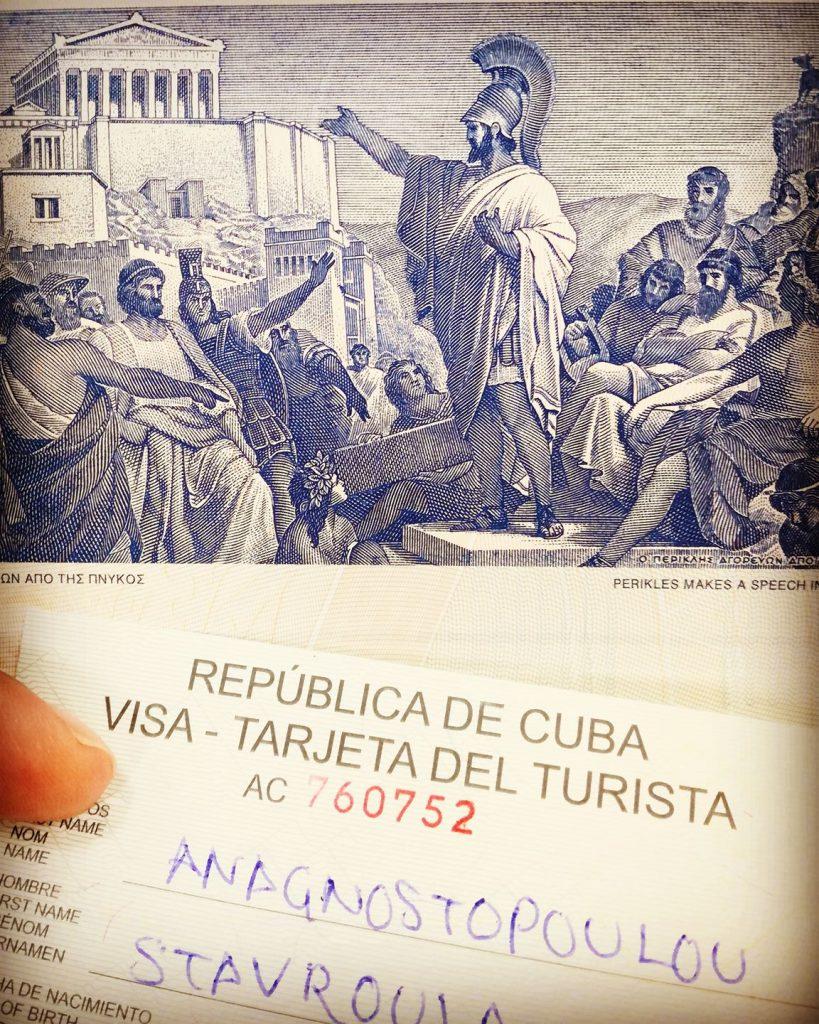 Cuba Tarjeta del Tourista