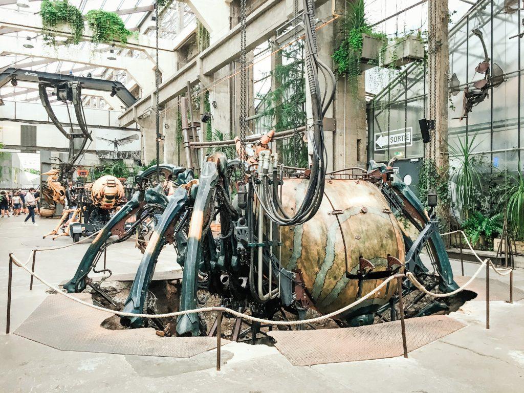 Nantes Galerie des Machines