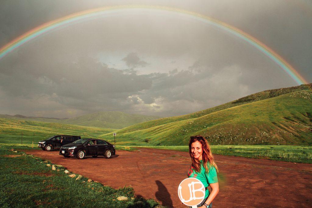 Mongolia Double Rainbow