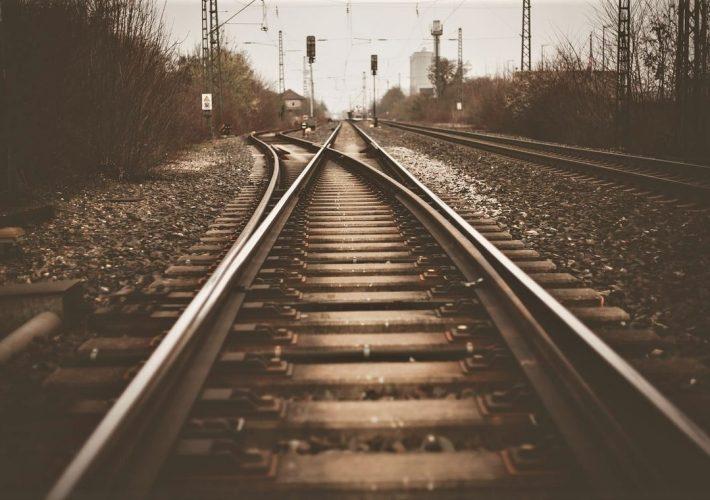Transiberian Train Rails