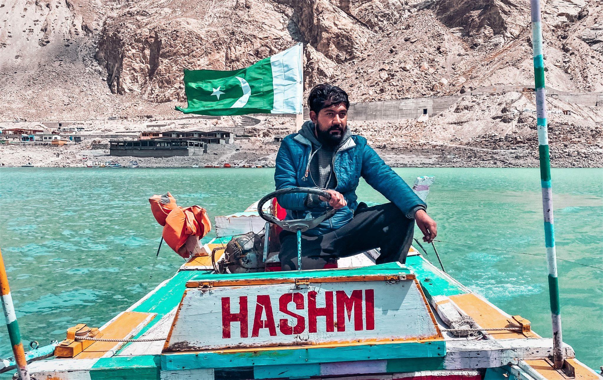 Attabad Lake Boat Ride
