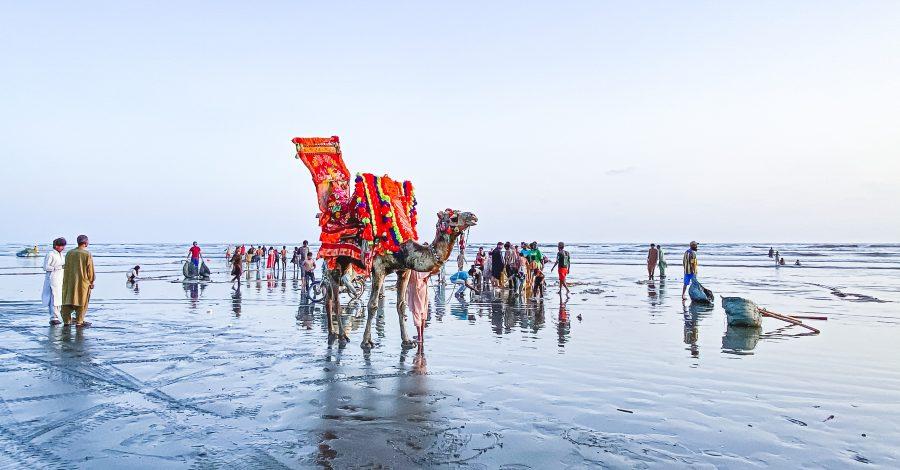 Karachi Clifton Beach